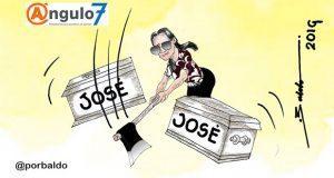 Caricatura: Una parte del príncipe en México