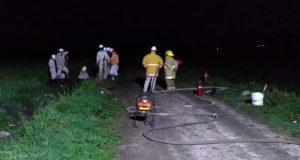 Controla fuga de gas LP en Tepeaca; aún no es sellada