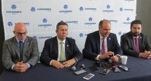 Coparmex de Puebla prevé misiones comerciales, en 2020 irá a China