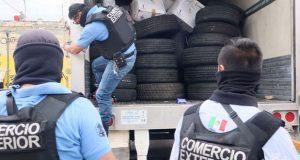 Decomisan autopartes presuntamente robadas en comercios de la 46 Poniente
