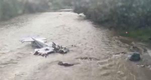 Desplome de avioneta deja cinco tripulantes muertos en Michoacán