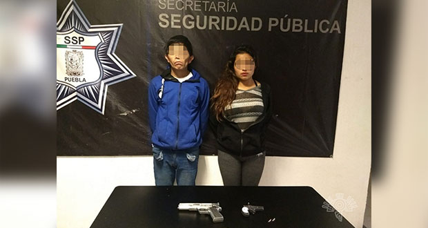 Detienen en Clavijero a 2 personas por portación de arma de fuego
