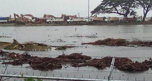 Difunden inundación en Dos Bocas; Nahle afirma que no hubo daños