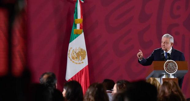EU no debe opinar sobre estrategia de seguridad en México: AMLO