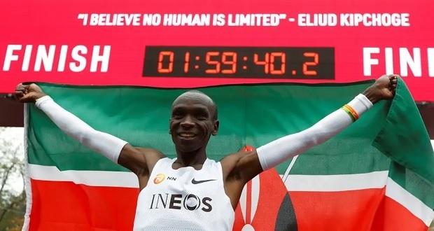 En Austria, Eliud Kipchoge rompe barrera de 2 horas en el maratón
