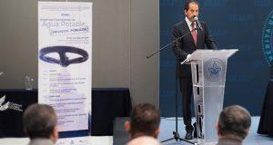 Esparza avaló privatización del agua con RMV; ahora, la critica durante foro
