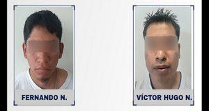 FGE detiene a presuntos homicidas de menor en Ocoyucan