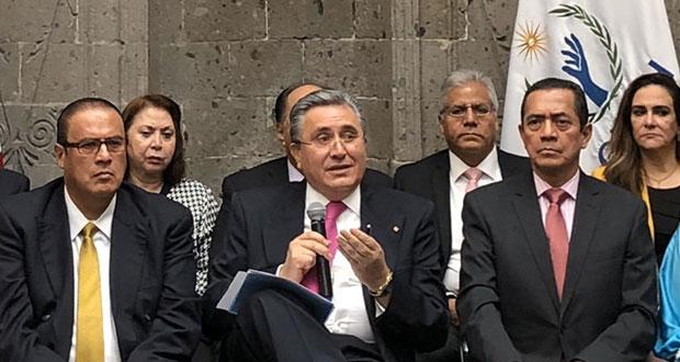 González confirma que no buscará reelección como presidente de CNDH