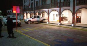 Grupo armado roba patrulla e intenta llevarse cajero en Coronango