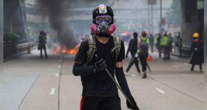 En Hong Kong, cárcel y multas por uso de máscaras en protestas