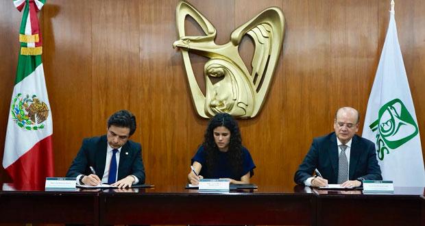 IMSS y Sntss firman contrato colectivo de trabajo con aumento del 3.5%