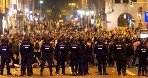 Independentistas de Cataluña inician serie de protestas en Barcelona