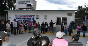 Ixcaquixtla abre casa de salud comunitaria en Santa Cecilia Clavijero
