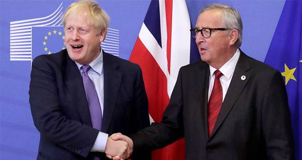 Unión Europea y Reino Unido pactan nuevo acuerdo para Brexit