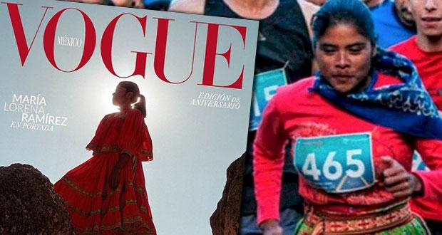 Lorena Ramírez, corredora rarámuri, aparece en portada de Vogue