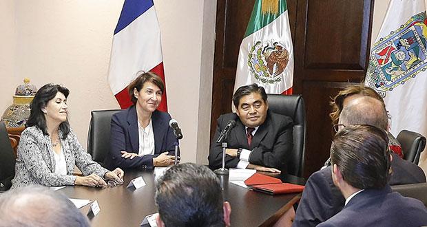 Misión comercial de Francia visita a Barbosa para plan de inversión
