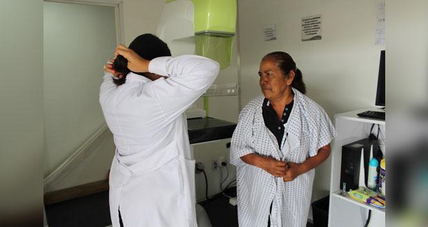 Ocoyucan brinda mastografías gratuitas en cabecera y Temoxtitla