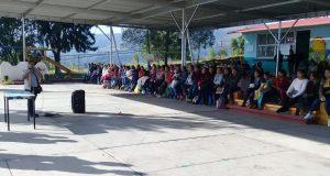 """Ocoyucan invita a pobladores de Temoxtitla a ser """"vecinos vigilantes"""""""
