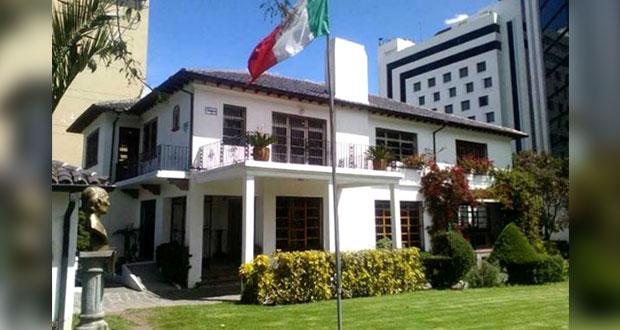 Parlamentarios de Ecuador buscan asilo en embajada mexicana