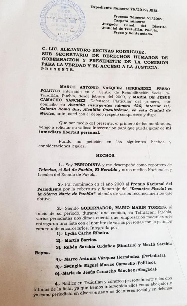 """Periodista busca libertad tras 10 años preso por """"fabricación"""" en marinismo"""