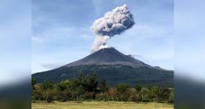 Con 177 exhalaciones, Popocatépetl continúa en Amarillo Fase 2