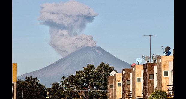 Popocatépetl registra 153 exhalaciones; alerta sigue en amarillo 2