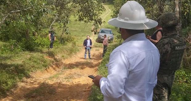 Protección Civil y Pemex controlan fuga de gas LP en Huauchinango
