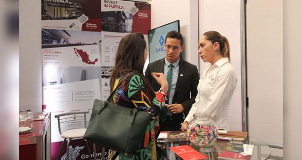 Puebla participa en feria industrial Hannover realizada en Guanajuato