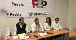 RSP de Puebla respaldan a yerno de Gordillo como líder nacional