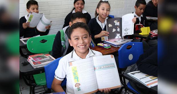 SEP concluye entrega de libros gratuitos para secundarias de Puebla