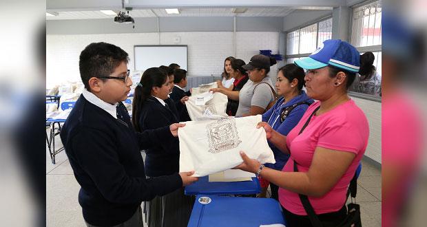 SEP entregará más de 794 mil paquetes de uniformes en Puebla
