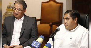 SEP revisará condiciones de las 10 normales rurales en Puebla: Barbosa