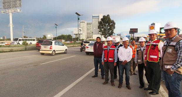 Se abre el puente Santa Clara en Periférico Ecológico