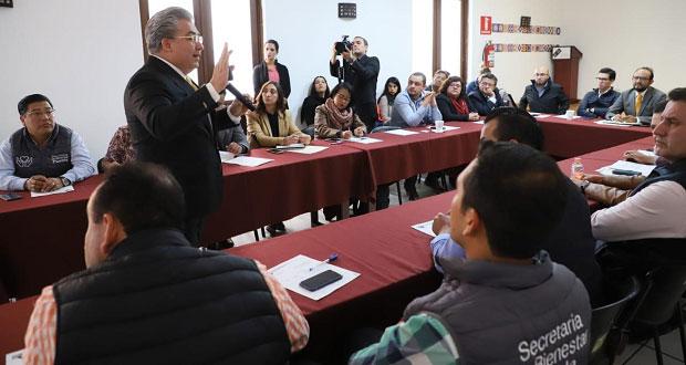 En Secretaría de Bienestar, discuten sobre propuestas contra pobreza
