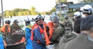 Tifón Hagibis deja decenas de muertos y desaparecidos en Japón