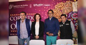 Turismo de Puebla promociona Festival del Día de Muertos en Tlaxcala