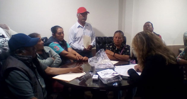 Vecinos exigen a Comuna de Huejotzingo realizar diversas obras
