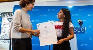 Unesco nombra a Yalitza Aparicio embajadora de buena voluntad