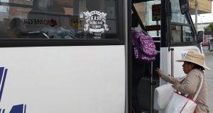 Sin irregularidades en arranque de nueva tarifa del transporte público