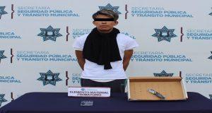 """Ssptm detiene a """"El Veneno"""" por un presunto asalto a transeúntes"""