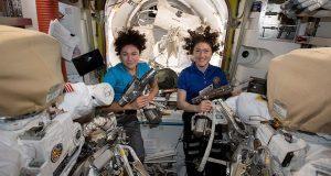 Primera caminata espacial de mujeres astronautas en 54 años