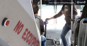 Comuna va por botones de alerta en 200 unidades del transporte público
