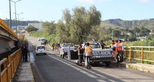 Comuna de Ocoyucan apoya recuperación de cadáver en el río Atoyac