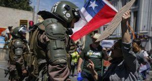 Fiscalía de Chile reporta más de 7 mil 600 detenidos por protestas
