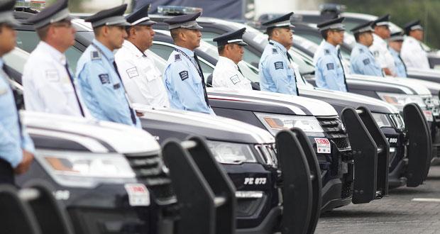 SSP buscará sumar 2 mil policías para 2020; abre convocatoria permanente