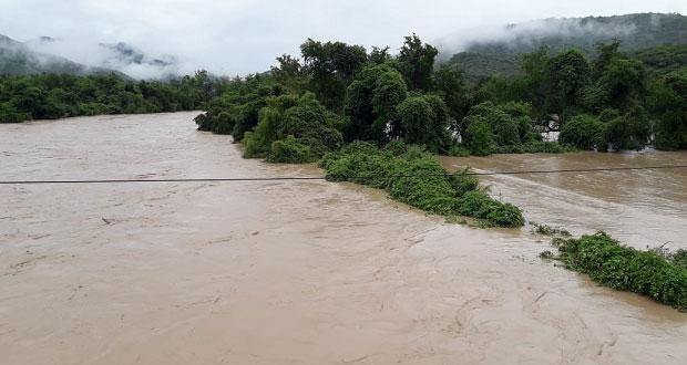 Tecomatlán buscará apoyo para sembradíos afectados por lluvias