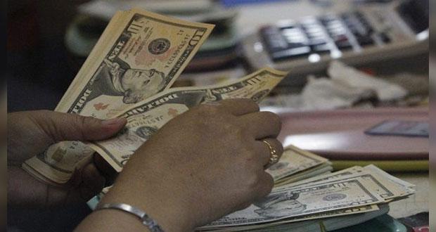 En agosto, aumentan 3.1% remesas del país con 3 mil 374 mdd: Banxico