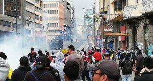Presidente de Ecuador cambia sede de gobierno tras protestas. Foto: @PSEcuatoriano