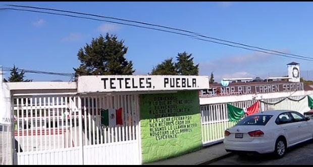 Director de Normal de Teteles se removerá del cargo por quejas de estudiantes