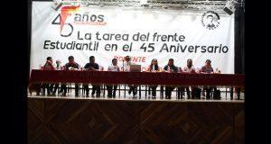 Estudiantes tendrán papel protagónico en aniversario 45 de Antorcha